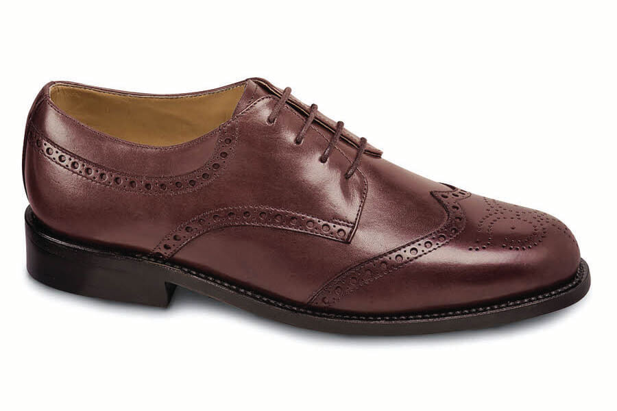 Burgundy Wing-Tip Oxford