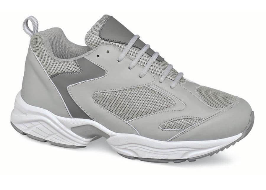 Grey Mesh Athletic Shoe