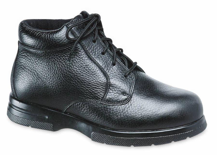 Black Grained Tucson Boot