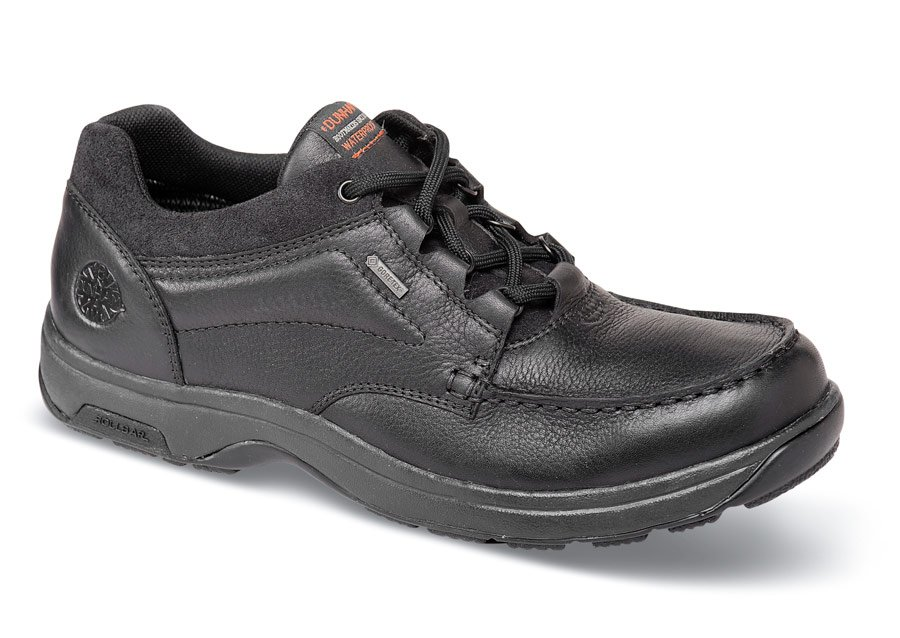 Black Gore Tex Exeter Low Cut Hitchcock Wide Shoes
