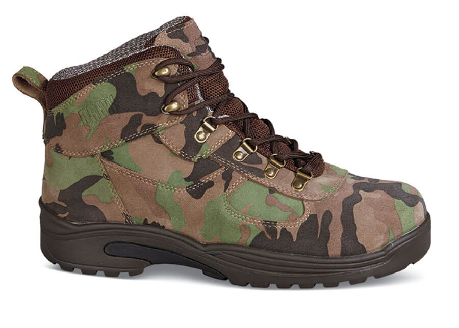 Camo Nubuck Rockford Boot