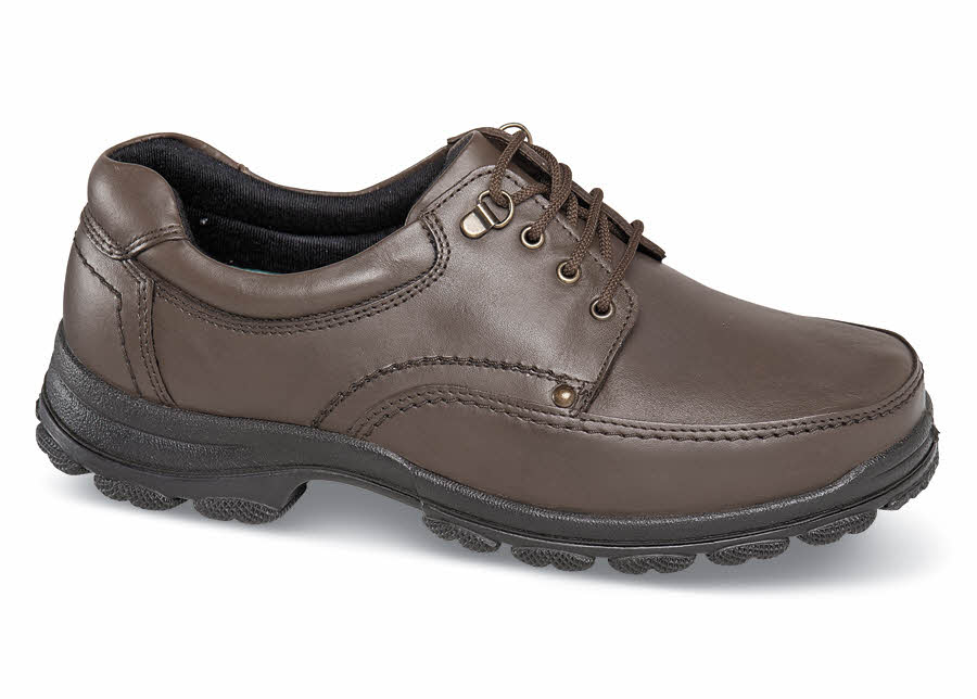 Brown 4-eyelet Sport Oxford