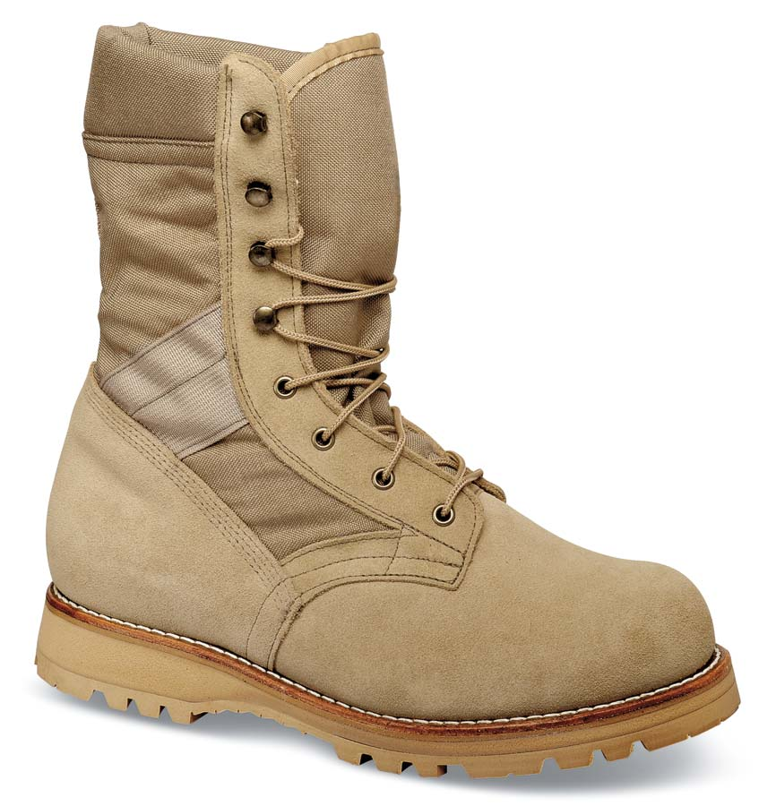 Tan Patriot 10-inch Boot