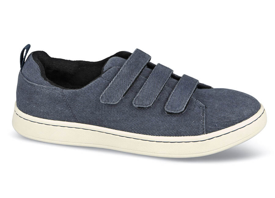Denim Canvas Ski 3-Strap