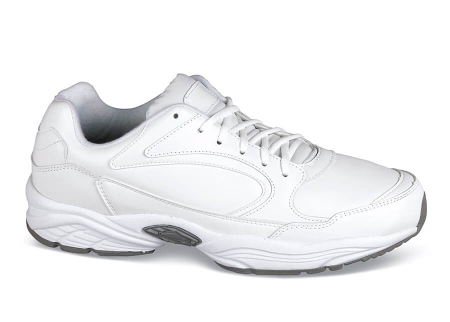 White Leather Sport Shoe