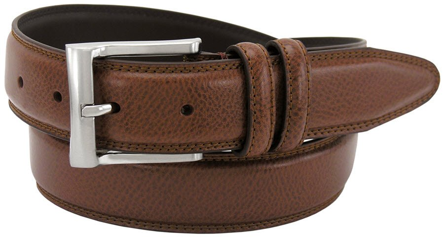 Cognac Double Loop Belt