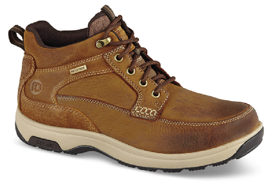 Tan Mid-Cut Waterproof Boot