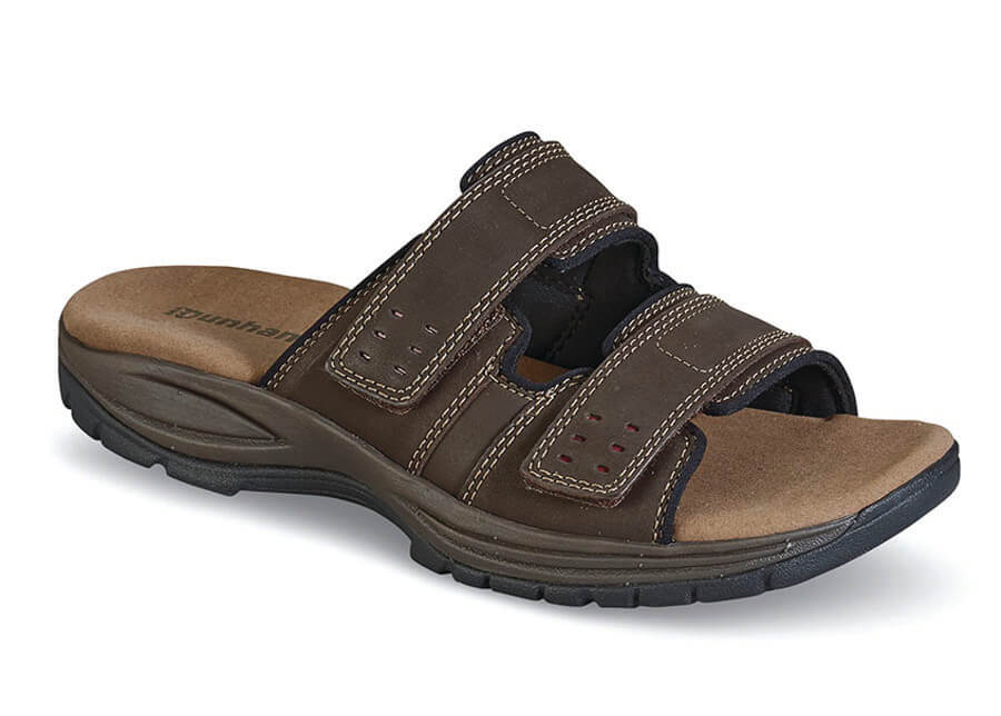 Brown Newport Slide Sandal