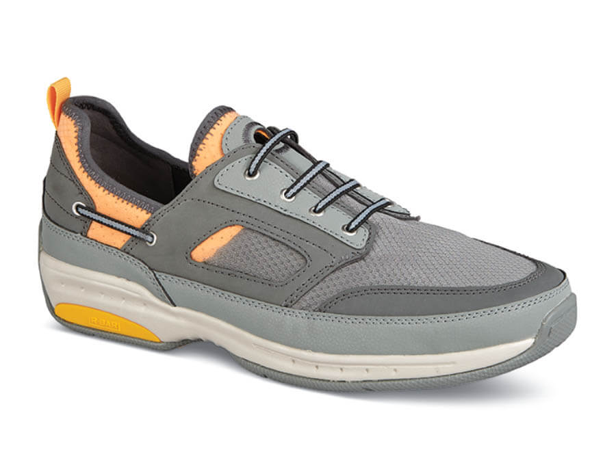 Grey Waterford Boat Shoe