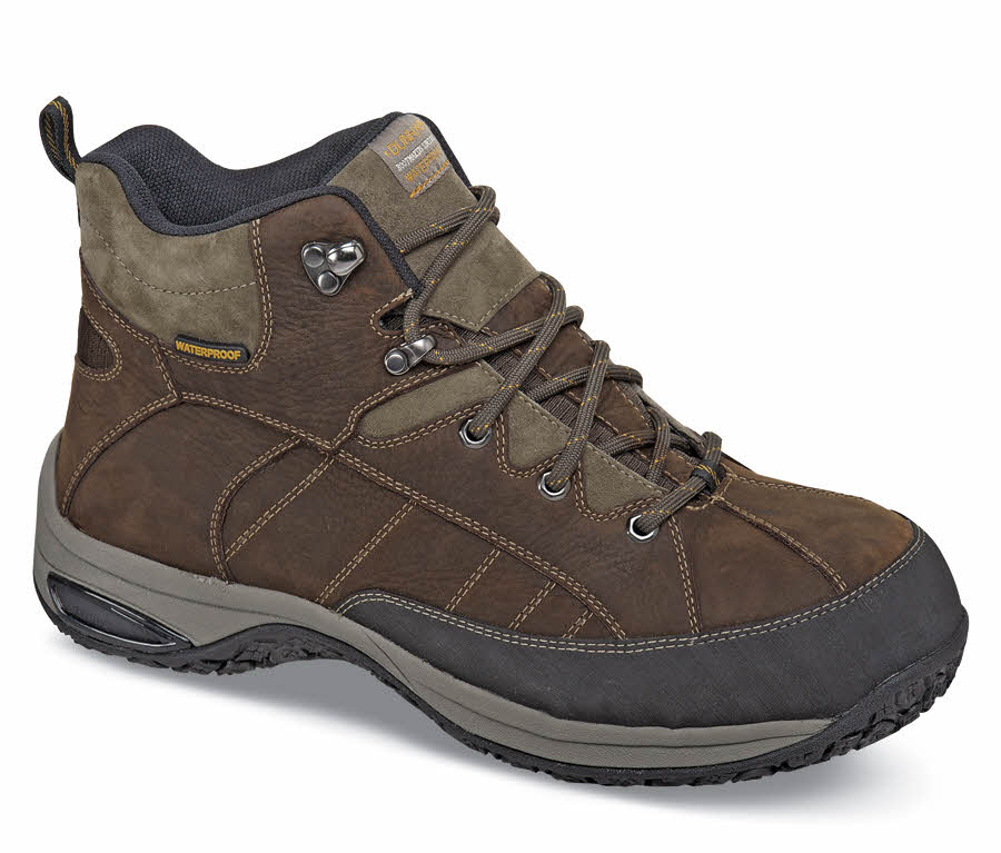 Brown Lawrence Steel-toe Boot