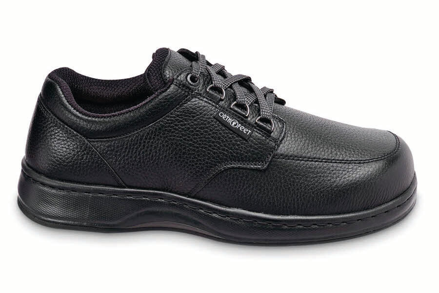 Black Grained D-ring Oxford
