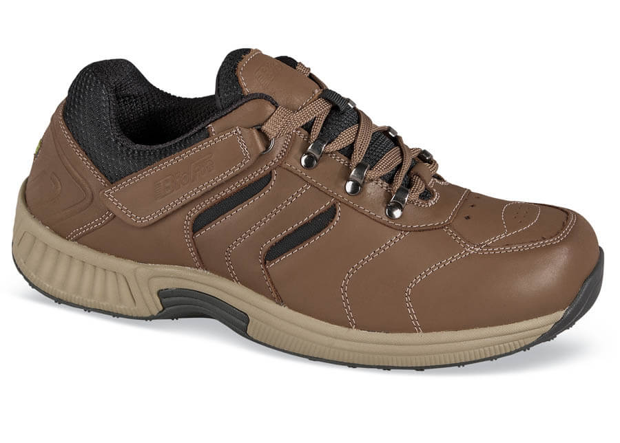 Brown Tie-less Athletic Shoe