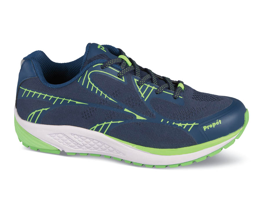 Navy/Lime Propet One LT