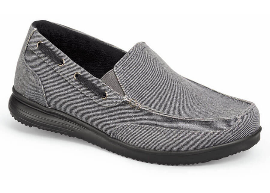 Grey Sawyer Canvas Slip-on