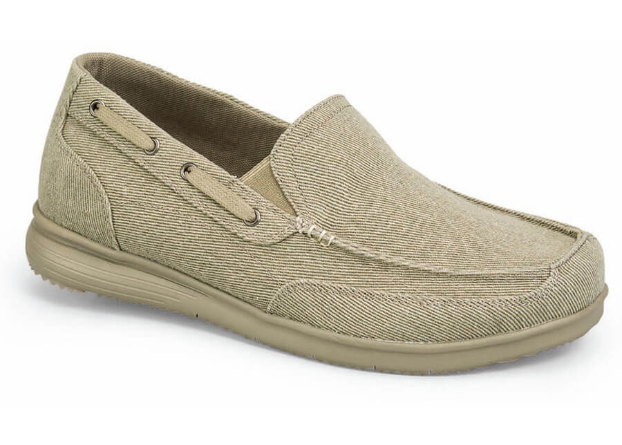 Tan Sawyer Canvas Slip-on