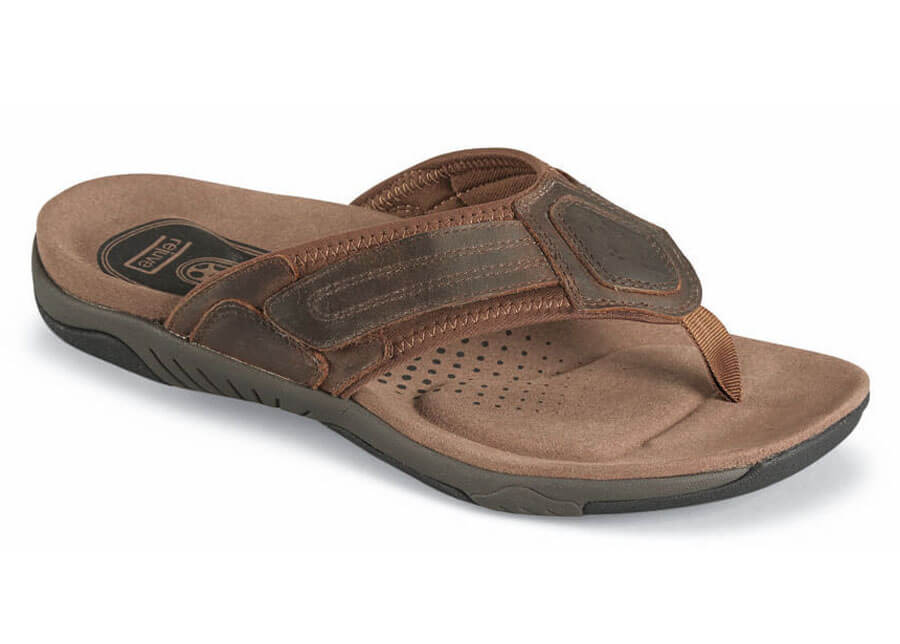 Brown Bandon Thong Sandal