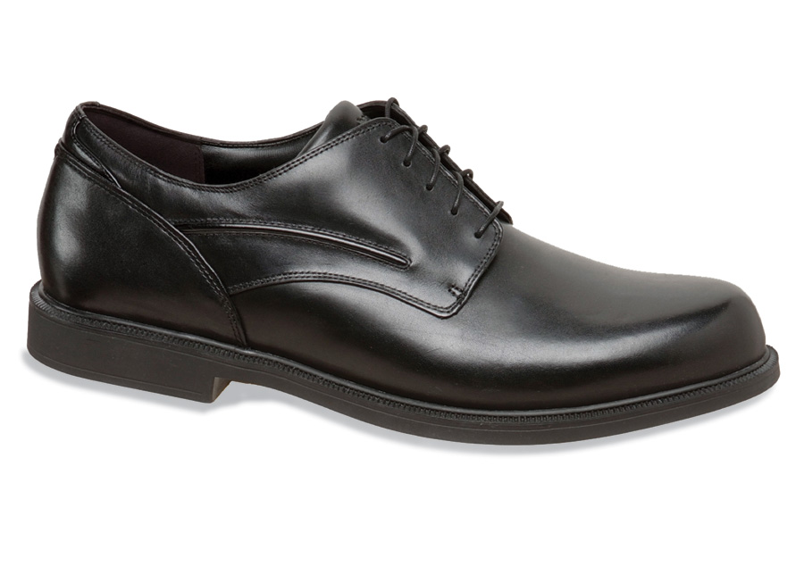 Upsized Burlington Black Oxford