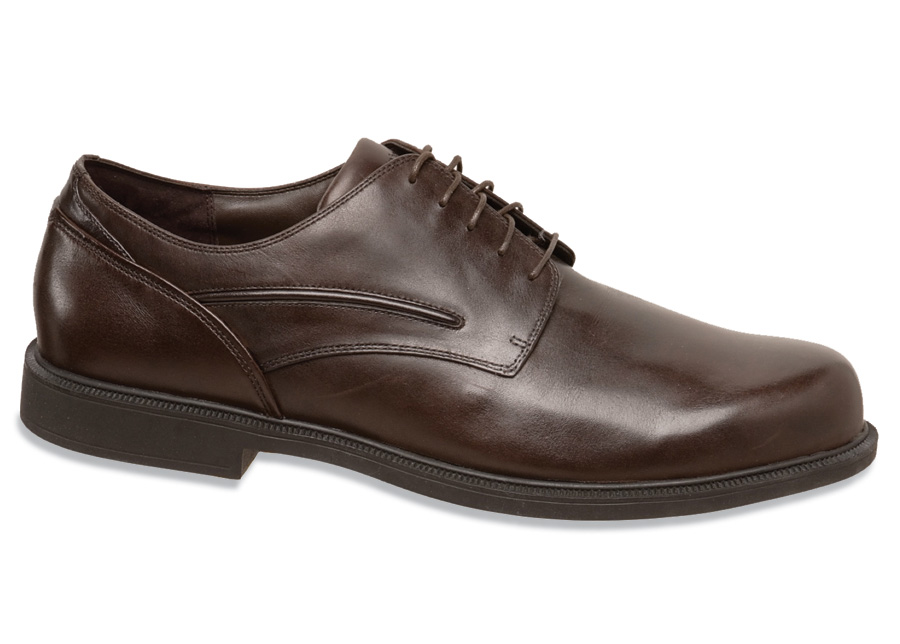 Upsized Burlington Brown Oxford
