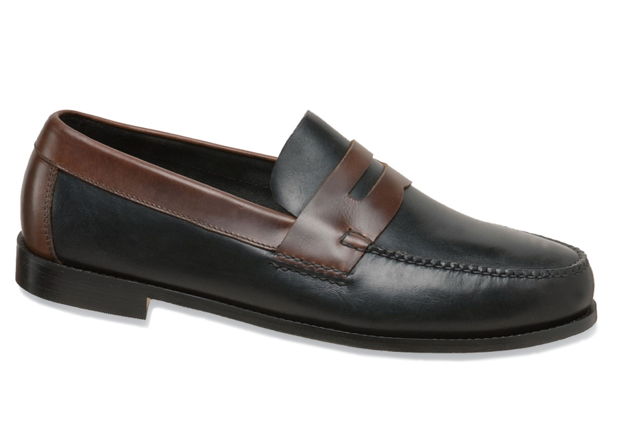 Black/brown Casual Loafer