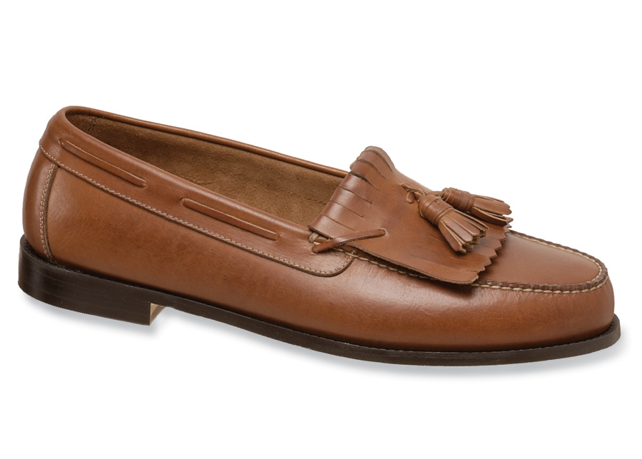 Tan Tassel Kiltie Loafer