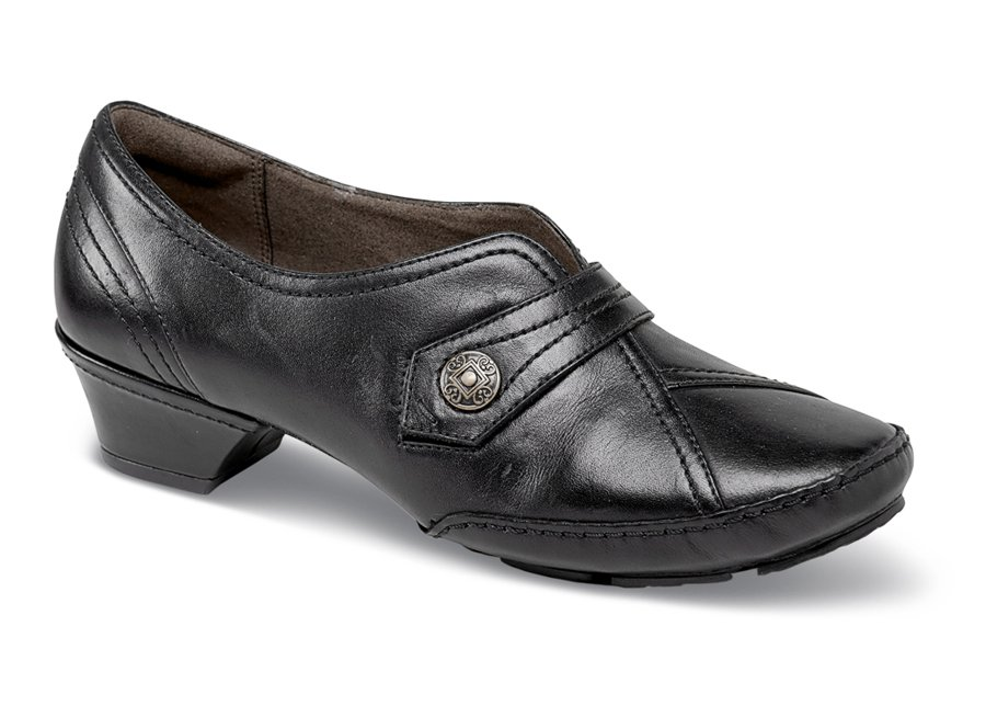 Flex-Laurel Black Monk Strap