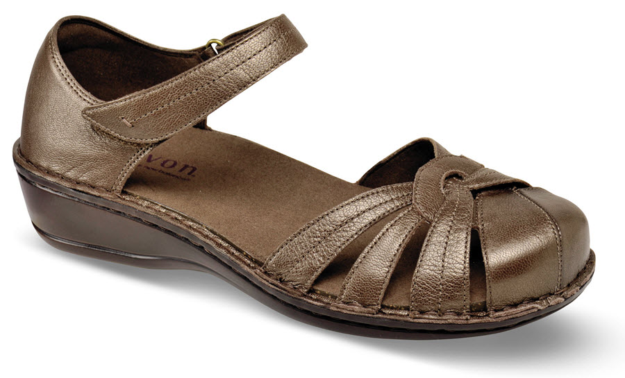 Clarissa Bronze Close-toe Sandal