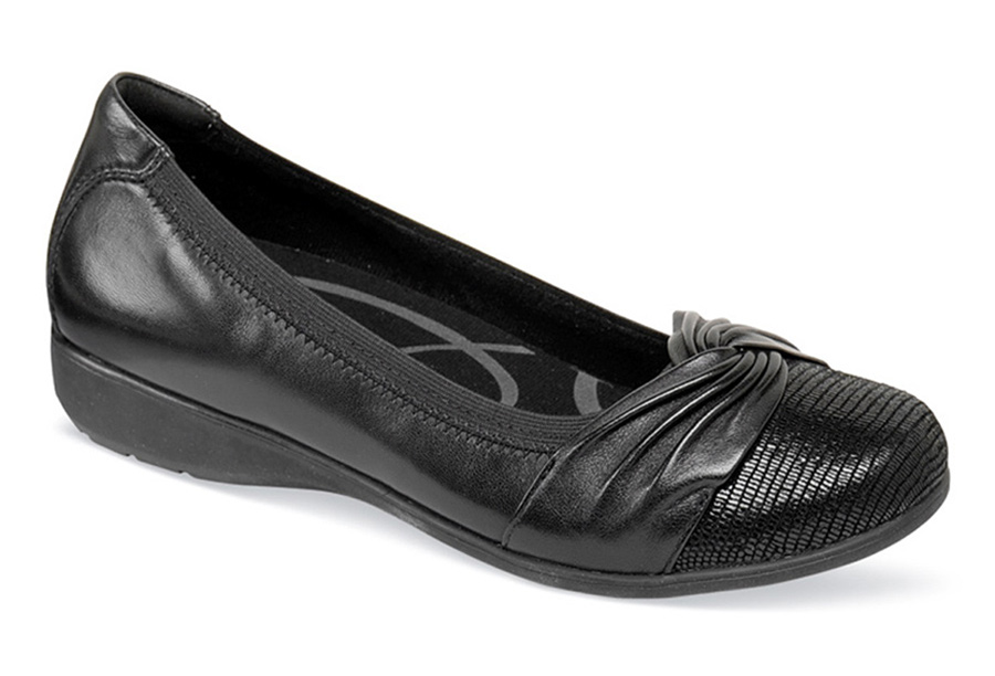 Andrea-AR Black Slip-on