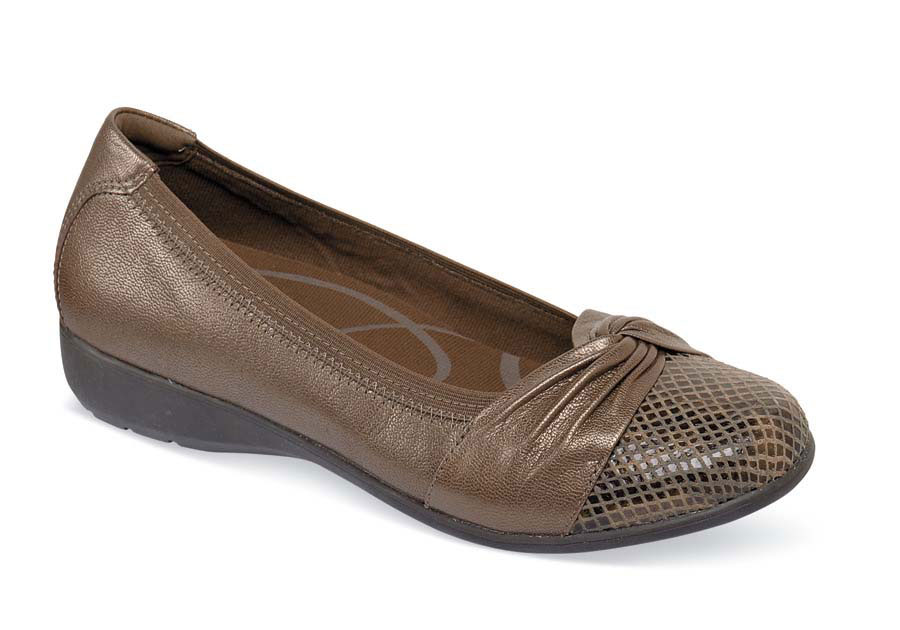 Andrea-AR Bronze Slip-on
