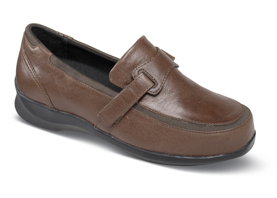 Evelyn Brown Stretch Loafer