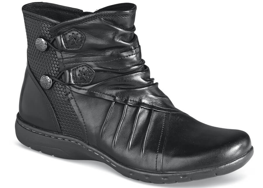 Penfield Black Bungee Bootie