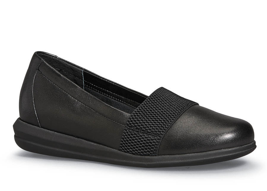 Hugo Black Stretch Slip-on
