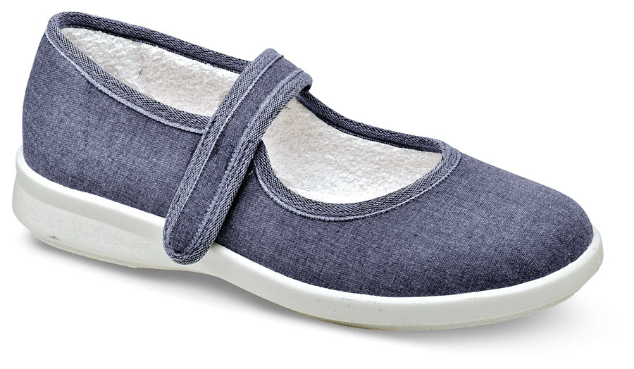 Jura Denim Canvas Mary Jane