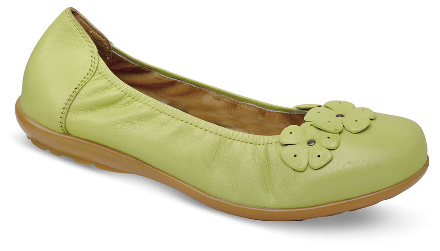 Imani Apple Green Ballet Flat