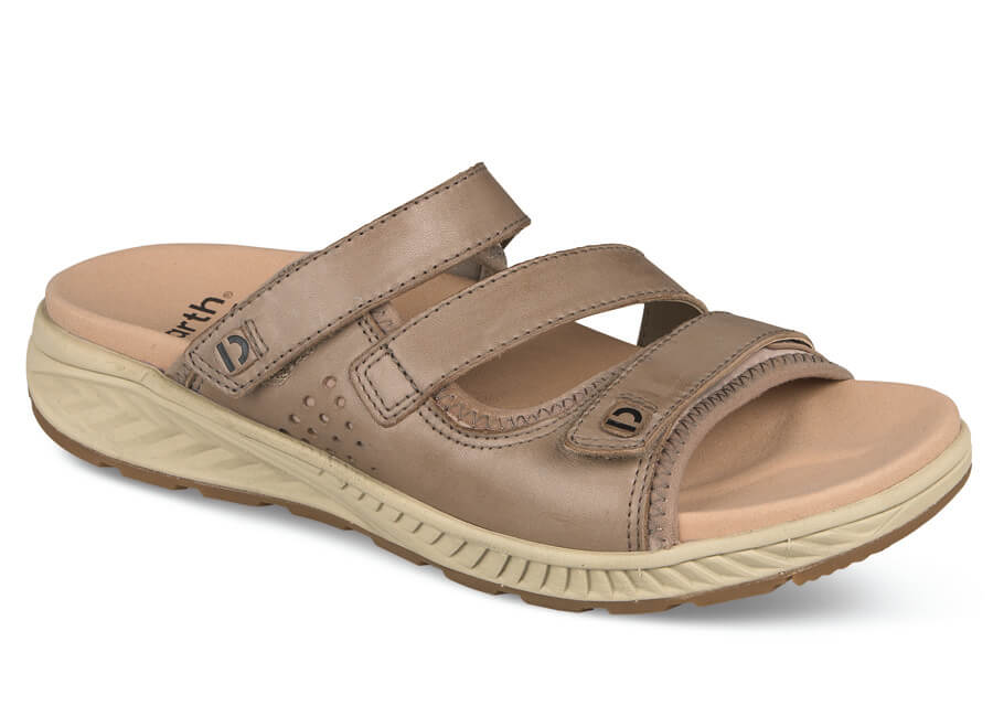 Mira Loures Taupe Slide