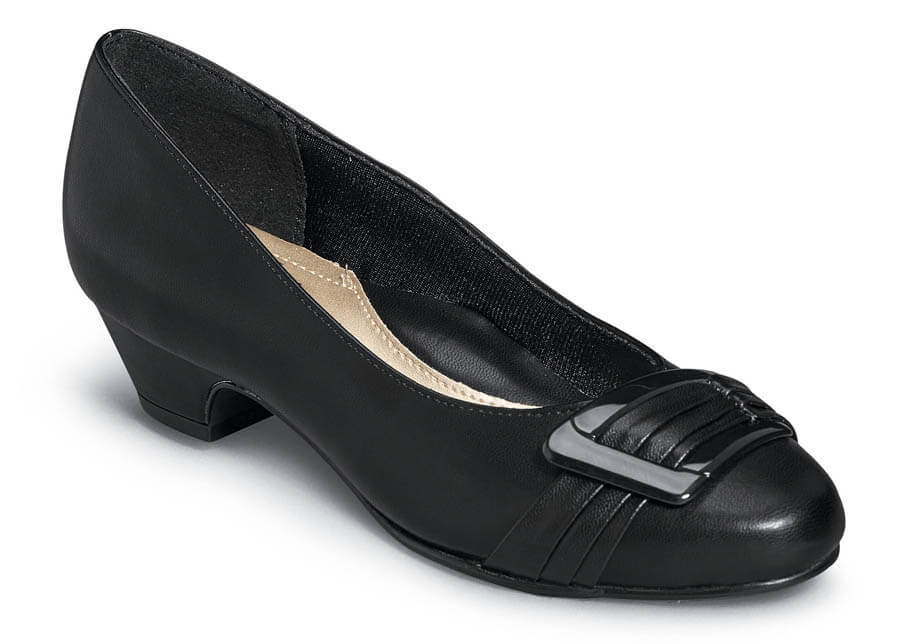 Pleats Be With You Black Pump