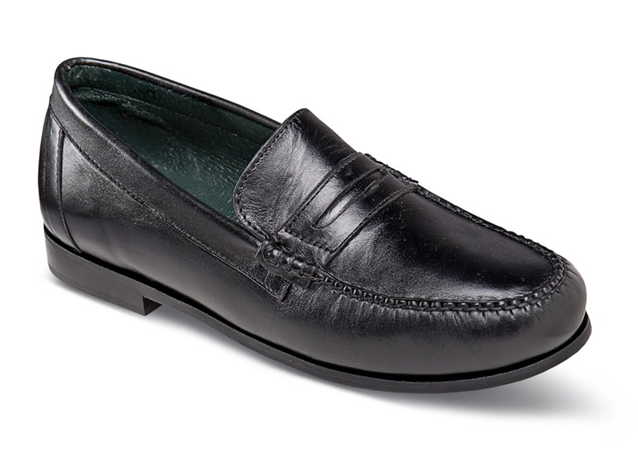 Lauren Black Penny Loafer