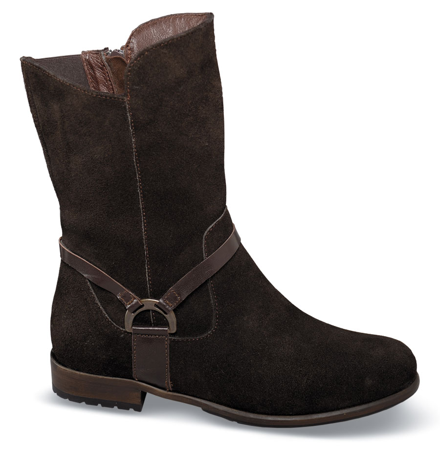 Sami Brown Suede 9-Inch Boot