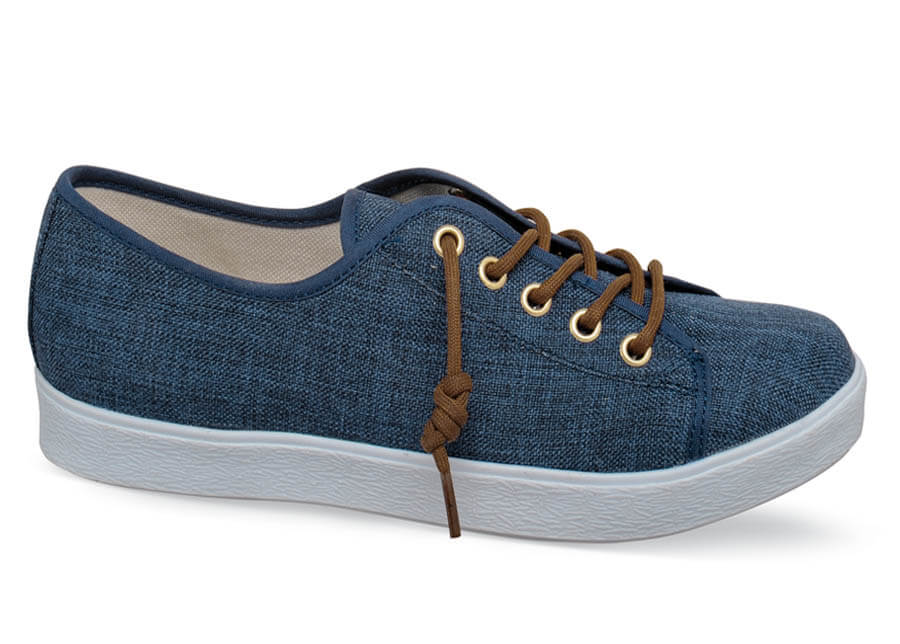 Emma Denim Canvas Sneaker