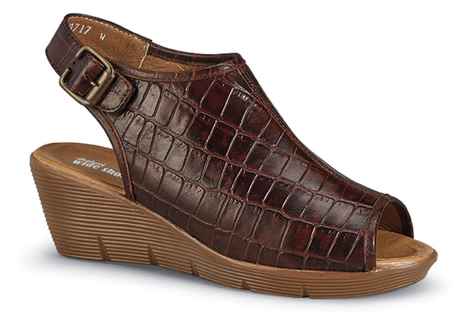 Suzanne Brown Croc Wedge
