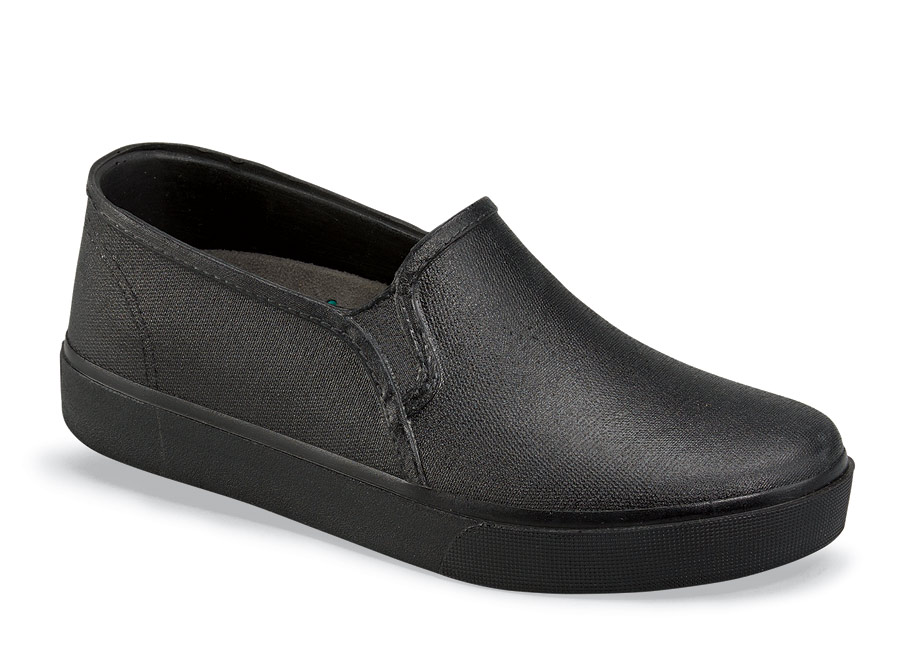 Tiburon Black Clog Slip On