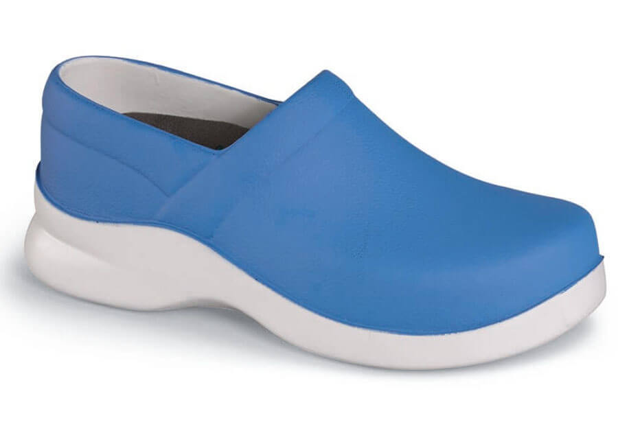 Boca Royal Blue PU Clog