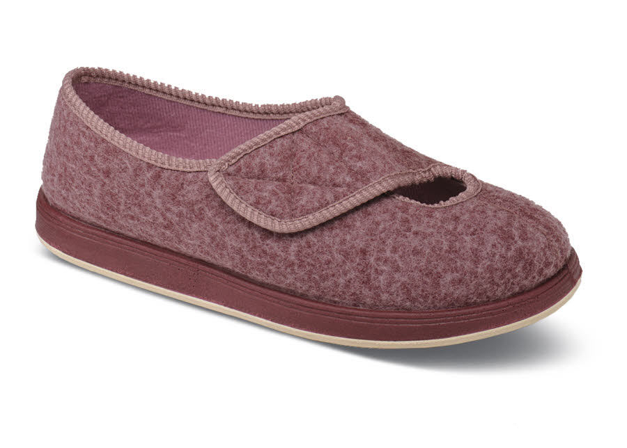 Kendale Rose Wooly Slipper