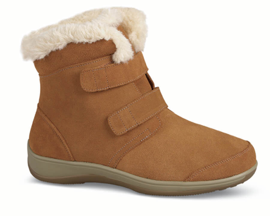 Florence Camel Suede Boot