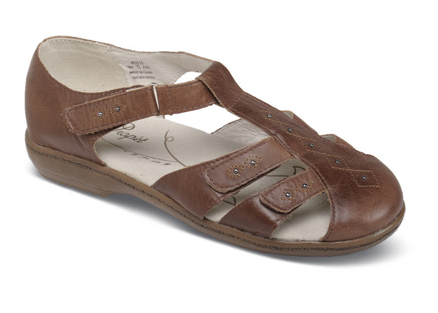 Heather Chestnut Fisher Sandal