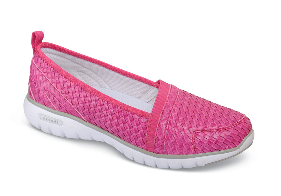 Travellite Fuchsia Slip-on