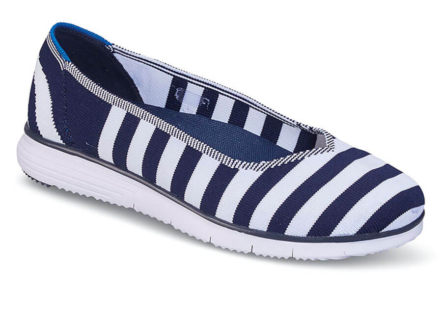 TravelFit Flex Navy/White Flat