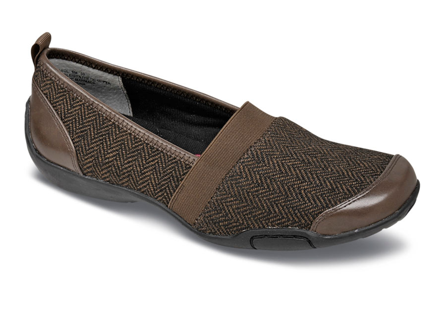 Carol Brown Herringbone Flat
