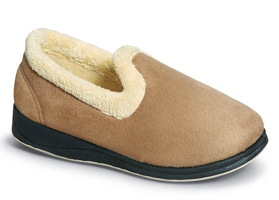 Repose Camel Fleecy Slipper