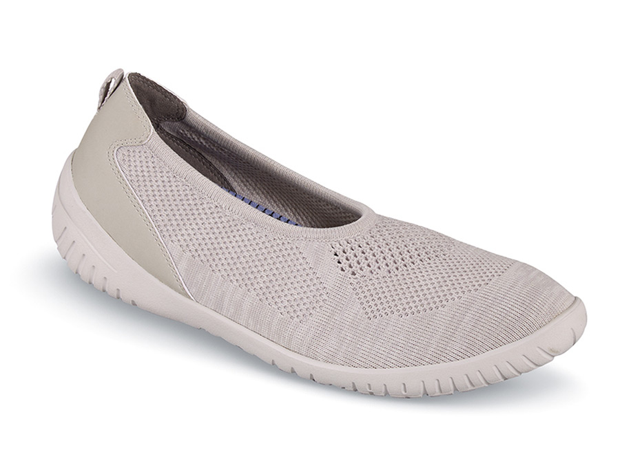 Knit Ballet Cloud Heather Flat