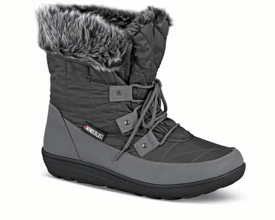 Snowflake Grey Thinsulate Boot